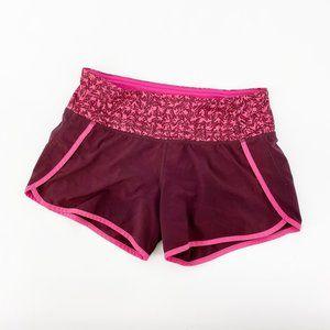 Lululemon : Pink Running Shorts Size 2